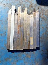 10 Brazed Screw Machine Tool Bit Lot 11mm Shank Automatic Lathe Tornos Bechler