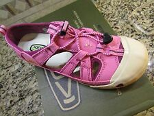 NEW KEEN CORONADO SANDALS GIRLS YOUTH  4 WOMENS 6.5-7 ORCHID/RASPBERRY free ship