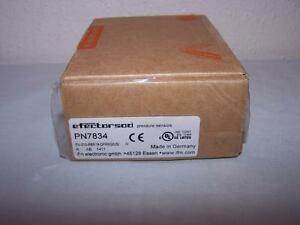 IFM EFECTOR PN7834 PRESSURE SENSOR NEW IN BOX