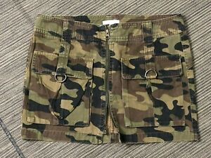 Vince Adult Womens 4 Camo Camouflage A Line Skirt