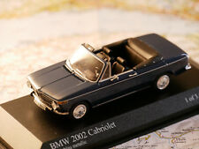 MINICHAMPS BMW 2002 CABRIOLET 1971 ART.400021130 NEW DIE-CAST