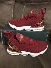 Nike LeBron XVI 16 King James Team Red Leopard AQ2465-601 Sz 4.5Y Women's Sz 6