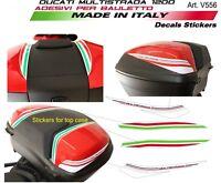 Adesivi per bauletto Ducati Multistrada 1200