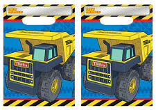 Tonka Truck Loot Favor Treat Bags Boys Construction Birthday Party Supplies ~ 16