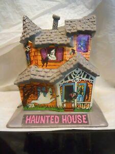 Vintage Halloween Belco Plastic Haunted House Original Decals Decoration 1970s