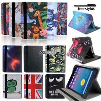 Folio Leather Rotating Stand Smart Cover Case For Alcatel OneTouch Pixi/POP Tab