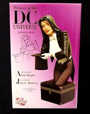 Zatanna Bust Statue New #35/5000 Women of the DC Universe Series 1 Amricons  .