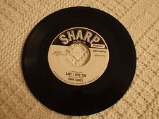 JIMMY BARNES BABY I LOVE YOU/LET ME KNOW  SHARP 113 PROMO M-
