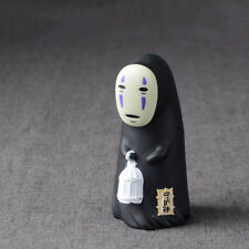 1Pcs Spirited Away No Face Man Figure Model Miyazaki Hayao Anime Desk Decoration