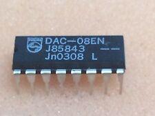 1 pc. DAC-08EN  Philips  8BIT BIPOLAR DAC  DIP16  NOS