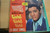 ELVIS PRESLEY    GIRLS,GIRLS,GIRLS   SOUNDTRACK      LP  RCA VICTOR   LSP  2621