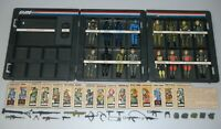 Lot Complete Set 1982 GI Joe Cobra Straight Arm v1 Figures Accessories File Card