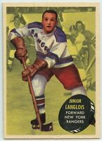 1961-62 Topps Hockey #46 Junior Langlois VG-EX Condition (2020-13)