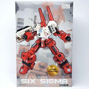 Before & After Six Sigma SIX-GUN Generations Titan Metroplex Addon Transformers