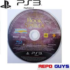 PS3 BOOK OF SPELLS Harry Potter for PlayStation 3 Wonderbook Hogwarts :DISC only
