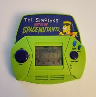 The Simpsons Bart vs The Space Mutants Vintage 1991 Acclaim Handheld LCD Game