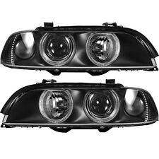 Halogen Scheinwerfer Set für BMW Typ 5 / E39 09.00-06.03 H7/H7 mit Motor
