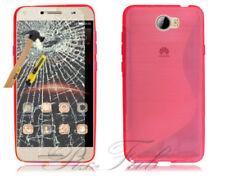 Carcasas Para Huawei Y6 color principal rosa para teléfonos móviles y PDAs