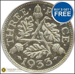 1920 TO 1936 GEORGE V SILVER THREE PENCES 3D CHOICE OF YEAR / DATE
