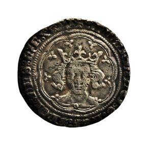 Edward III Groat - Treaty-Period, Calais Mint - Rare (HHC4234)