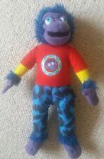 Ex con cute soft toy Zak from Zingzillas BBC childrens TV series