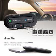 Wireless Bluetooth Slim Magnetic Handsfree In Car Phone Kit Speaker Visor Clip