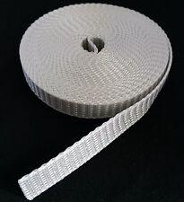 Roller Shutter Belt Webbing Band Width 20mm 10m Grey Belt Winder Roller