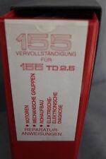 Alfa Romeo 155 Reparaturanweisung 1992/94  Motoren - Mech-Gruppen - Ele-Diagnose