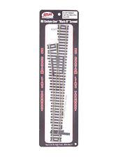 "Code 100 Custom-Line ""Mark-IV"" #6 Left Turnout Track HO - Atlas #283 vmf121"