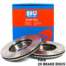 QH BDC5307 Rear Axle Solid Pair of Brake Disc