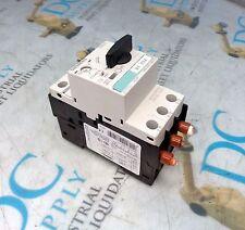 SIEMENS SIRIUS 3RV1421-4BA10 3 PH 50/60 Hz CIRCUIT BREAKER