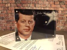 JOHN F. KENNEDY JFK SIGNED HANDWRITTEN WORD JSA LOA AUTHENTIC HISTORY