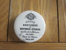 French Advertising Toothpaste Pot Lid