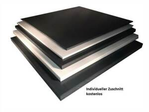 2-15mm PVC HART Platte technischer Kunststoff Platte UV-beständig Zuschnitt