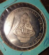 APOLLO FIRST MANNED ORBITAL SPACE FLIGHT  COMMEMORATIVE COIN