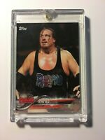 Rhyno 2018 WWE Topps #77 Blank Back Proof Card w COA 1/1 WWF ECW