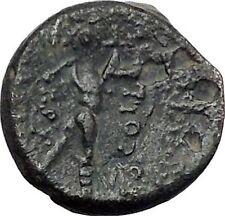 Apameia in Phrygia Ancient Greek Coin Artemis Diana Cult Satyr Marsyas i49505