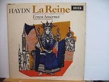DECCA SXL 6022 WBg HAYDN La Reine ERNEST ANSERMET STEREO VINYL LP