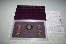 1986,US Mint Proof Set,Kennedy Half Dollar,Proof,Birth Year,Free Shipping,789057
