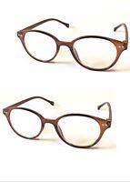 L107 Trendy Unisex Retro Vintage Reading Glasses/Super Fashion Round Lens Design
