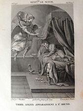 TRE ANGELI APPAIONO A S. BRUNO Galerie du musée Napoléon J. Lavallée 1804-1815