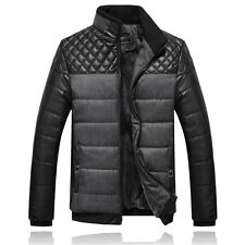Mens Warm Winter Jackets Coat Jacket Outwear Thick Padded Parka Overcoat Outwear