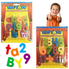 Magnetic Letters & Number Kids Learning Alphabet Fridge Children's Activity Play