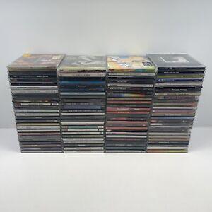 Huge CD Collection of 100x Band Albums Joblot Bundle Rock Indie Pop Funk Soul