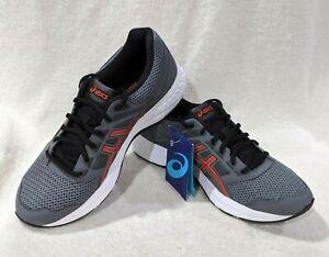 Asics Men's GEL-Contend 5 Steel Grey/Red Snapper Running Shoes-Sz 8.5/10.5/11.5