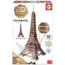 3d Monument torre Eiffeleduca Borras