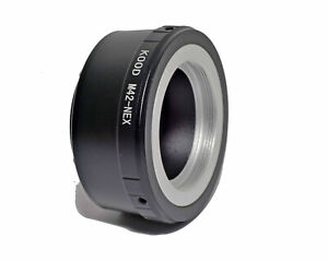 Kood M42-NEX Adapter Ring For m42 Screw Fit Lens to Sony NEX E Mount