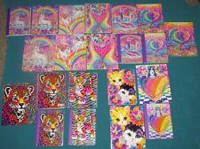NEW! 21 pc LOT Lisa Frank Notebooks & Folders DOLPHIN GIRAFFE UNICORNS LEOPARD+