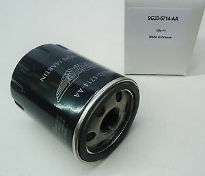 Aston Martin V8 Vantage Genuine Oil Filter  OEM # 9G33-6714-AA / 6G43-04-10054