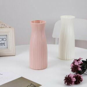 Office Vase Plastic Small Waist Wedding Decoration Flower Vase Durable